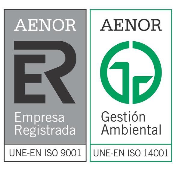 certificado aenor para instelcon empresa instalaciones fotovoltaicas